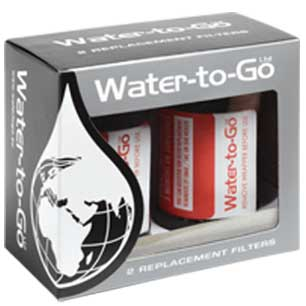 WATER TO GO FILTER x2